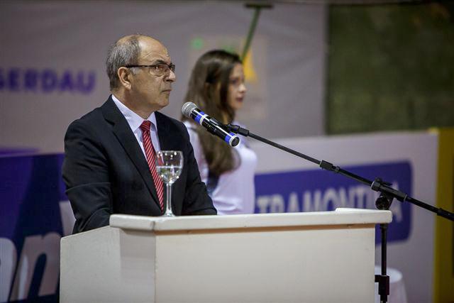 Cerimonia de abertuda do 33º Campeonato Internacional Juvenil de Tênis de Porto Alegre. (Créditos: Heusi Action)